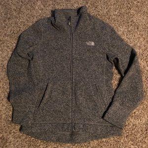 Women's North Face Crescent Full Zip Fleece jacket
